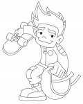 American Dragon: Jake Long Jeux de coloriages de filles
