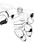 Big Hero 6 Telecharger Coloriages