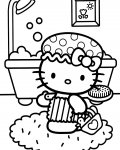 Hello Kitty coloriages à imprimer