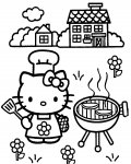 Hello Kitty Coloriages gratuits