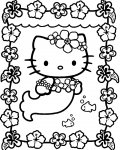 Hello Kitty Coloriages pour enfants