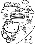 Hello Kitty Coloriages pour filles