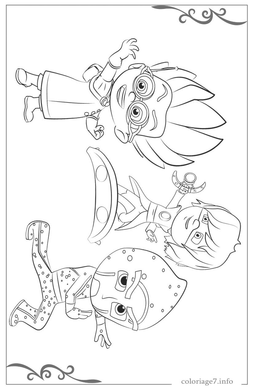 Coloriage en ligne pyjamasque - Pyjamasques coloriage ...